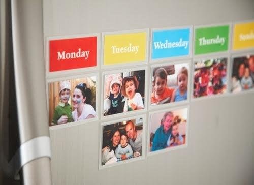 Exemple d'agenda pour les activités des enfants