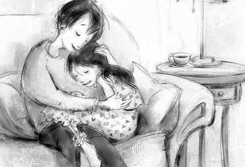 Une mère qui s'aime vaccine ses enfants contre le manque d'estime de soi