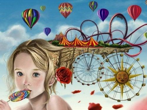 Les jeux, les histoires, l'imagination, sont des moyens de profiter de vos enfants