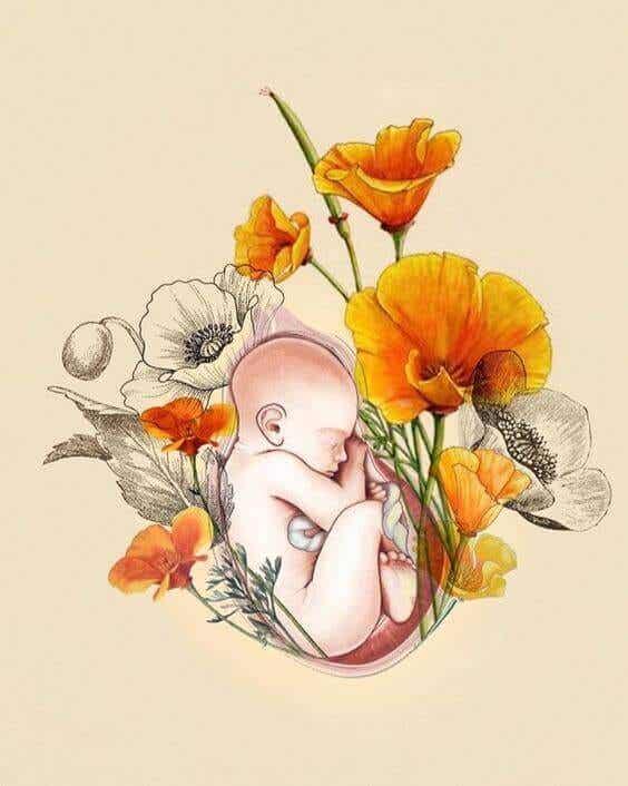 """La maternité : """"je t'aime depuis le premier battement de ton coeur"""""""