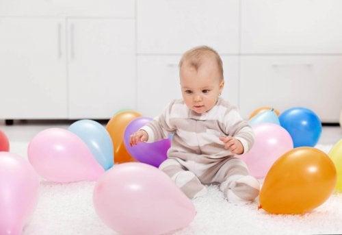 7 activités avec des ballons de baudruche pour votre enfant