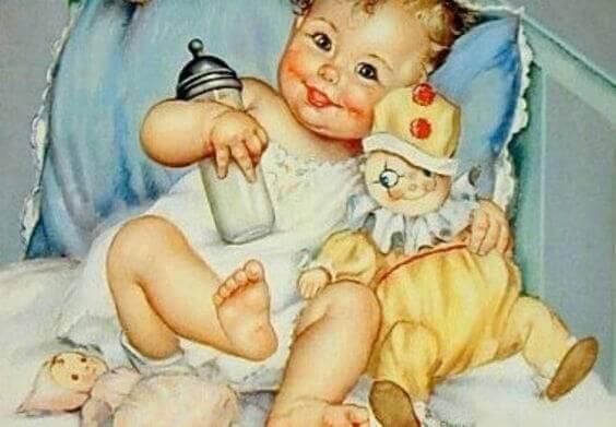 Le sourire d'un bébé est une joie indescriptible
