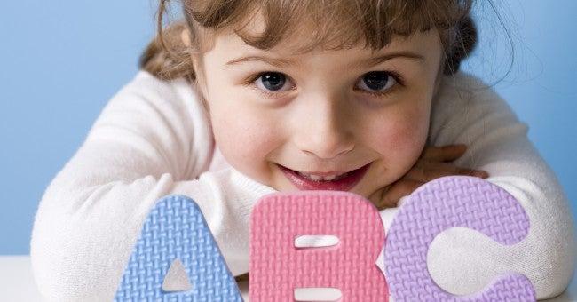 Une petite fille de deux ans