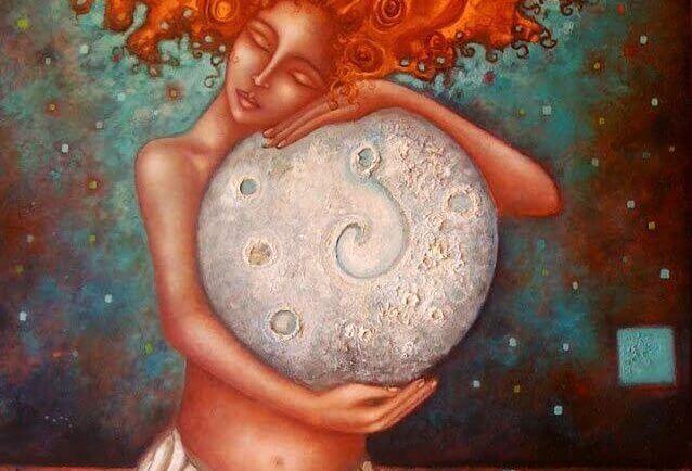 la Lune et la Femme sont toutes les deux porteuses de vie