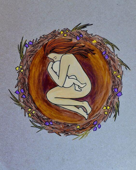 Une mère aime son bébé depuis le premier battement de son coeur.