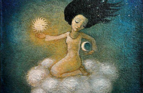 La Lune et la Femme ont deux énergies identiques