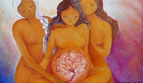 Nous sommes des filles de la Lune, des mères et surtout, des femmes FORTES