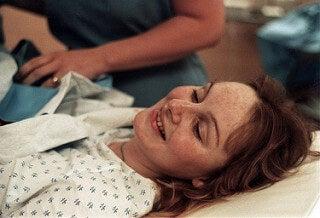 Une femme enceinte le jour de l'accouchement