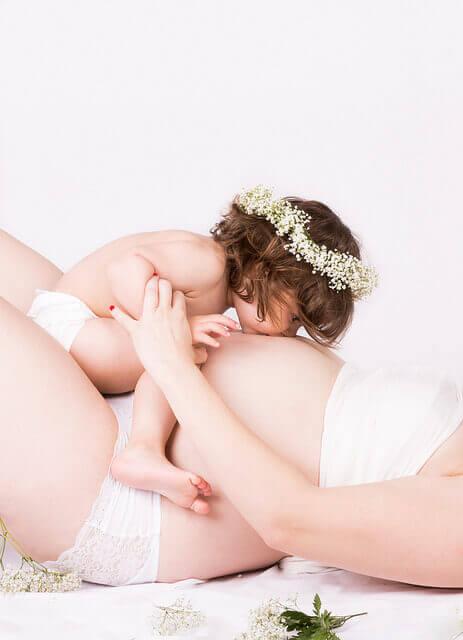 femme et petite fille