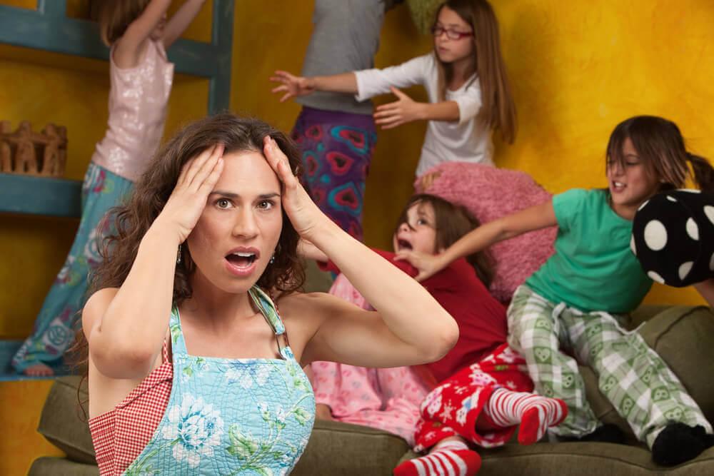 enfants qui se comportent mal