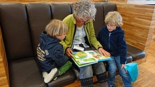 Le temps passé avec les grands-parents est important pour toute la vie