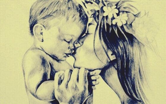 L'art de faire des câlins à son enfant