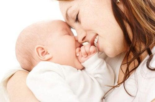 Soyez le plus proche possible de votre bébé, le temps passe vite