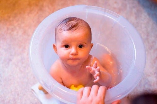 Le rituel du bain est un moment de relaxation.