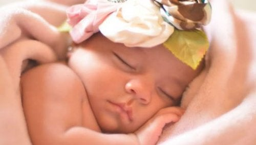 L'odeur de bébé est une harmonie céleste