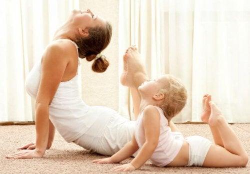 Prendre soin de soi donne l'exemple aux enfants