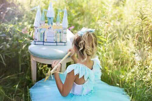 Faites comprendre à votre fille qu'elle n'a pas besoin d'être une princesse