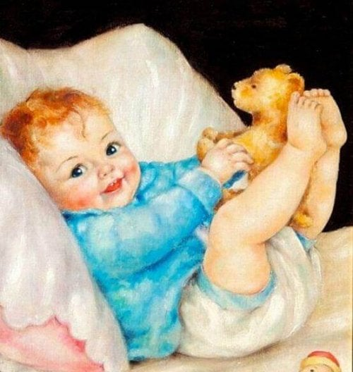 Mon enfant, quand tu souris, tu effaces toutes les tristesses et tu illumines mes espoirs