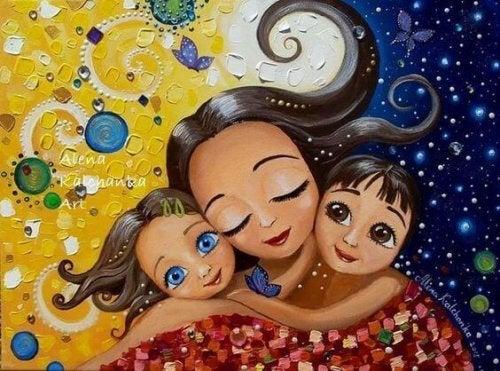 Une mère aimante ne donne pas à ses enfants une mauvaise éducation