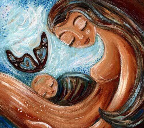 On dit souvent que la vie est meilleure et pleine d'amour après l'arrivée d'un enfant