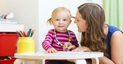 Le rôle d'une mère est de développer la sensibilité de ses enfants