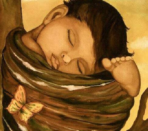 L'importance du coucher : bébé qui dort