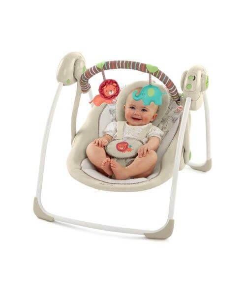 Le transat vous permet d'avoir votre bébé près de vous et en sécurité