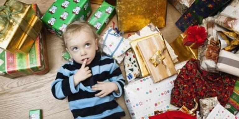 Le syndrome de l'enfant trop gâté et comment le gérer