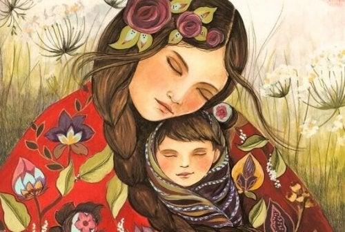 Face au rire joyeux de son enfant, une maman est au septième ciel