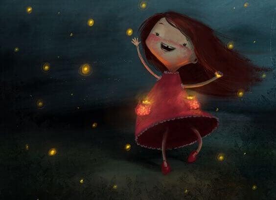 Chaque adulte a des étoiles dans les yeux quand il entend le rire d'un enfant