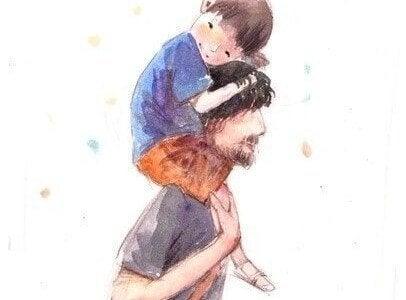 Un enfant a besoin de moments de bonheur, et d'un exemple à suivre