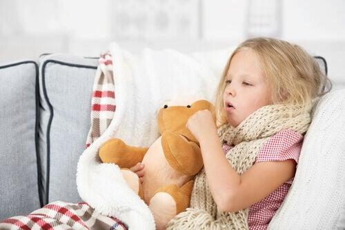 La mononucléose chez l'enfant