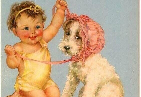 Un bébé avec beaucoup de caractère peut passer du rire aux larmes en quelques secondes
