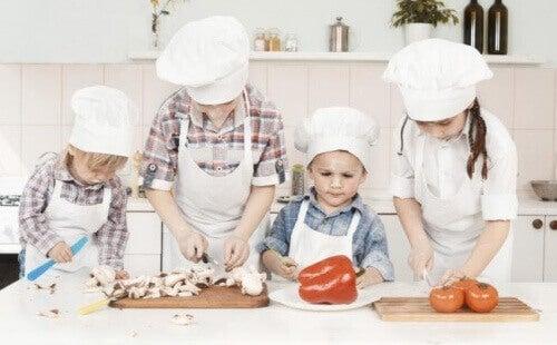 L'alimentation des enfants est un élément indispensable dans leur éducation et leur développement