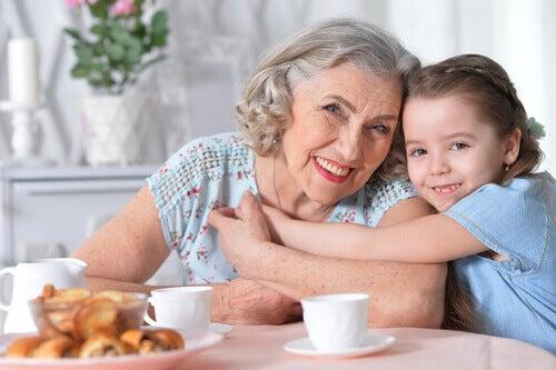 L'importance de la grand-mère paternelle pour la famille