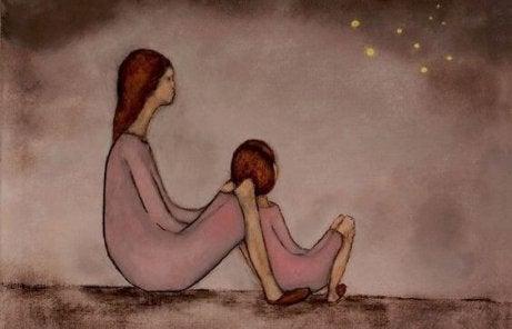 Le sacrifice est une qualité des mères au même titre que l'amour, l'attachement, le dévouement...