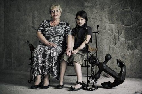 Les enfants de parents toxiques manquent d'autonomie.