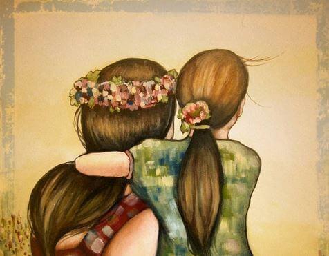 L'amour d'une mère reste intact et présent tout au long de sa vie, c'est ce qui forge des êtres stables et confiants