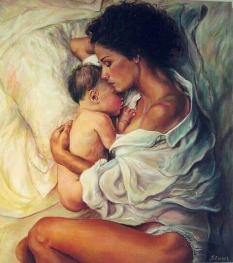 Il est important de donner de l'amour à un enfant et qu'il le ressente fortement