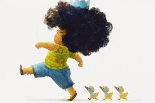 L'imagination est innée chez les enfants.