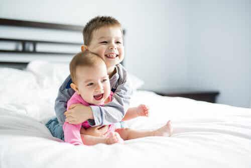 L'effet de la différence d'âge entre les frères et sœurs