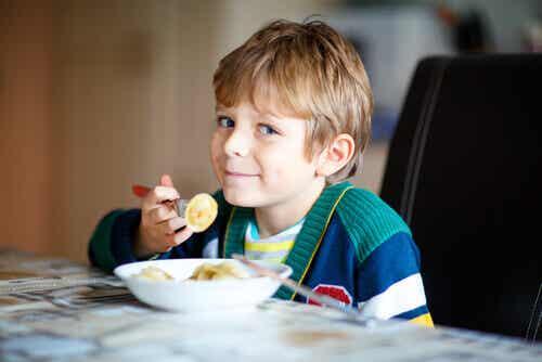 L'importance d'avoir une alimentation saine dès le plus jeune âge