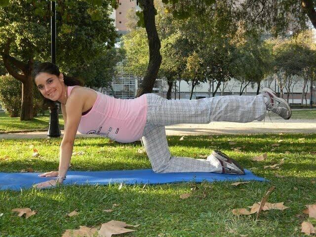 Profitez du beau temps pour faire de la stimulation prénatale.