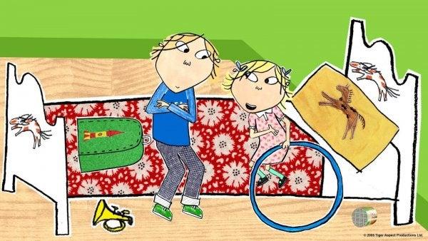 Charlie et Lola est une série d'animation qui plait beaucoup aux enfants.