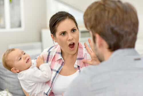 Se disputer devant les enfants est une erreur