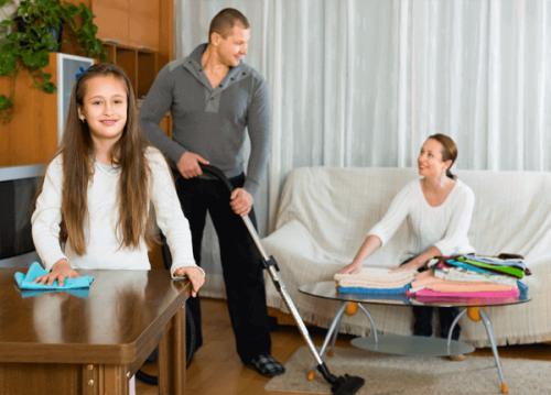 taches ménagères foyer