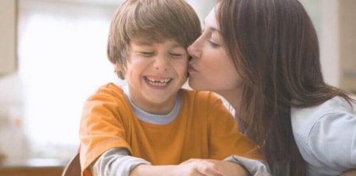 Maman avec son garçon
