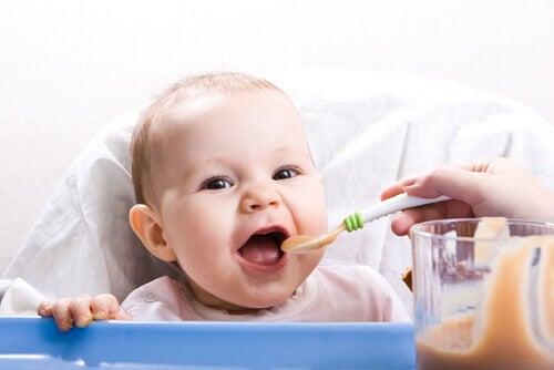Des recettes saines pour les bébés de 9 à 12 mois