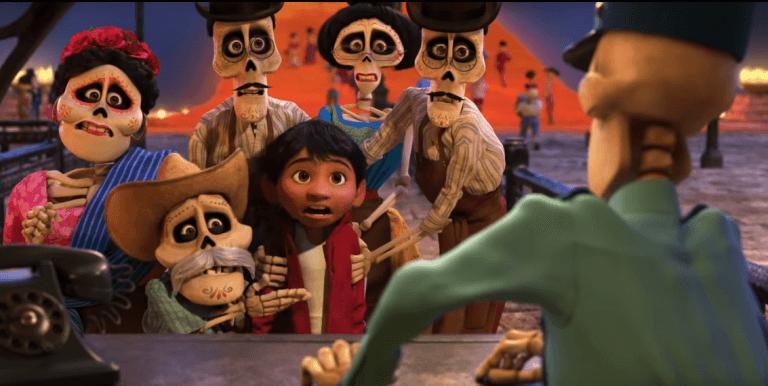 Coco raconte l'histoire d'un enfant qui fait un voyage dans le monde des morts