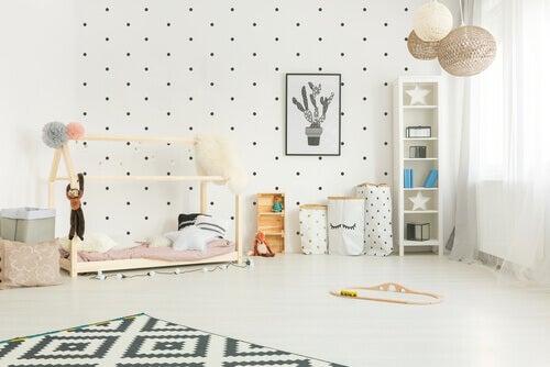 La méthode Montessori pour décorer la chambre des enfants